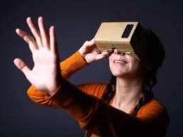 Location cardboard personnalisé VR